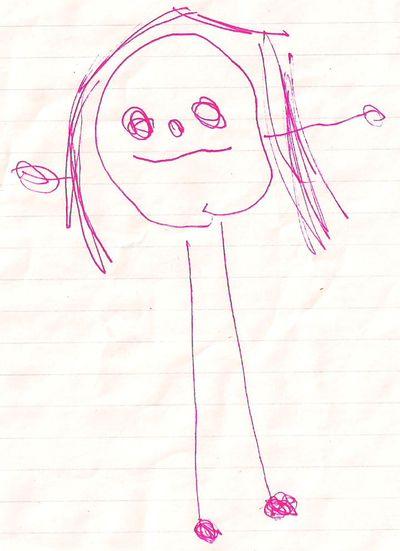 Audrey self-portrait